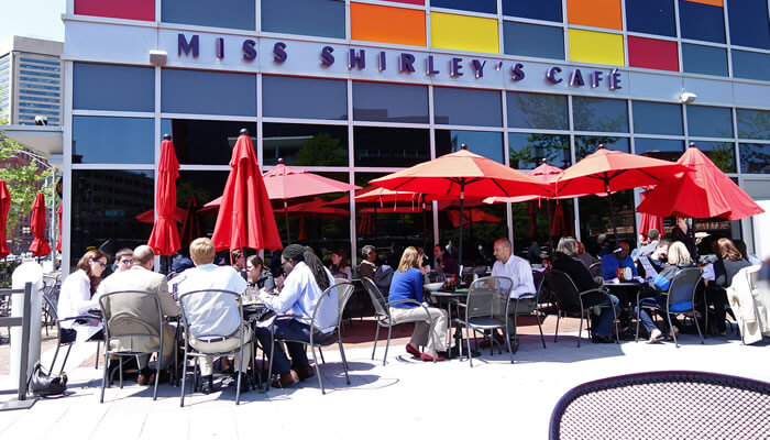 Miss Shirley's Restaurand Baltimore Maryland